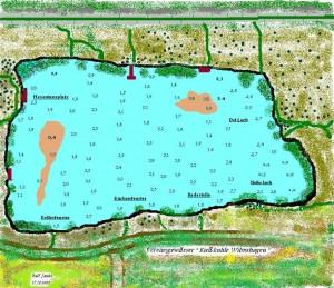 Tiefenkarte-Vereinsgewässer